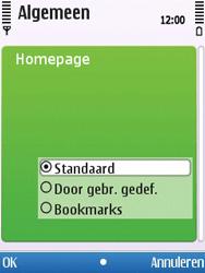 Nokia 6700 slide - internet - handmatig instellen - stap 22