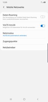 Samsung Galaxy Note 10 Plus 5G - Netzwerk - So aktivieren Sie eine 5G-Verbindung - Schritt 6