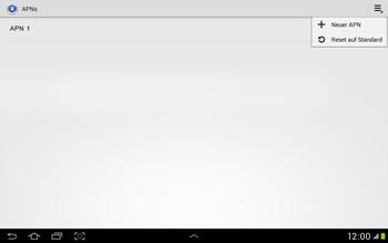 Samsung Galaxy Tab 2 10.1 - MMS - Manuelle Konfiguration - Schritt 8