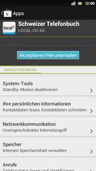 Sony Xperia S - Apps - Installieren von Apps - Schritt 8