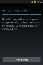 Samsung S6810P Galaxy Fame - apps - account instellen - stap 20