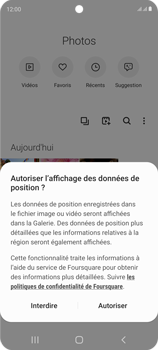 Samsung Galaxy S20 FE - Photos, vidéos, musique - Envoyer une photo via Bluetooth - Étape 4