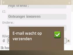 Nokia E72 - e-mail - hoe te versturen - stap 15