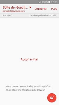 Samsung Galaxy A8 - E-mail - 032c. Email wizard - Outlook - Étape 4