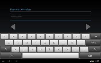 Sony Xperia Tablet Z LTE - Apps - Konto anlegen und einrichten - Schritt 12
