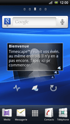 Sony Xperia Ray - Internet - Configuration automatique - Étape 1