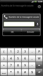 HTC Z715e Sensation XE - Messagerie vocale - configuration manuelle - Étape 8