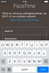 Apple iPhone 4S met iOS 5 (Model A1387) - Applicaties - FaceTime gebruiken - Stap 5
