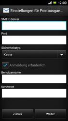 Sony Xperia J - E-Mail - Konto einrichten - Schritt 10