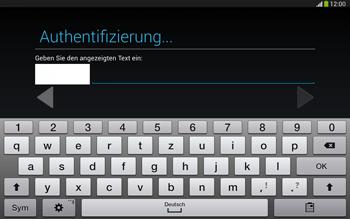 Samsung Galaxy Tab 3 10-1 LTE - Apps - Konto anlegen und einrichten - 19 / 25