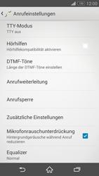 Sony Xperia Z3 - Anrufe - Rufumleitungen setzen und löschen - 5 / 9
