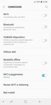 Samsung Galaxy S9 - Internet e roaming dati - Come verificare se la connessione dati è abilitata - Fase 5