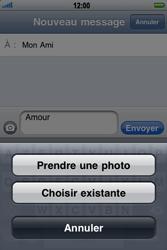 Apple iPhone 3G - MMS - envoi d'images - Étape 8