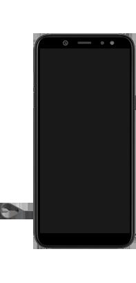 Samsung galaxy-a6-sm-a600fn-ds-android-pie - Instellingen aanpassen - SIM-Kaart plaatsen - Stap 7