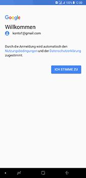 Samsung Galaxy A8 Plus (2018) - E-Mail - Konto einrichten (gmail) - Schritt 11