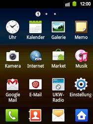 Samsung S5360 Galaxy Y - WLAN - Manuelle Konfiguration - Schritt 3