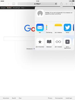 Apple iPad Pro 9.7 - iOS 10 - Internet - internetten - Stap 16