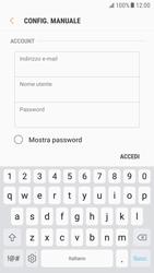 Samsung Galaxy S6 - Android Nougat - E-mail - configurazione manuale - Fase 8