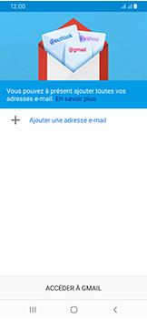 Samsung Galaxy A40 - E-mails - Ajouter ou modifier votre compte Gmail - Étape 6
