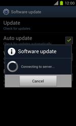 Samsung Galaxy S II - Software - Installing software updates - Step 8