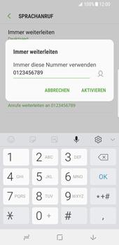 Samsung Galaxy S8 - Android Oreo - Anrufe - Rufumleitungen setzen und löschen - Schritt 11