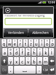 HTC Wildfire - WLAN - Manuelle Konfiguration - 8 / 10