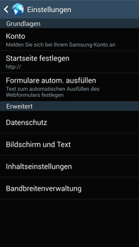 Samsung Galaxy Note 3 LTE - Internet - Apn-Einstellungen - 26 / 28