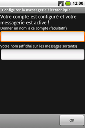 Samsung I7500 Galaxy - E-mail - Configuration manuelle - Étape 13