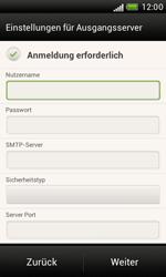 HTC Desire X - E-Mail - Konto einrichten - 0 / 0