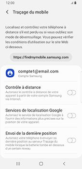 Samsung Galaxy S9 Android Pie - Appareil - Configurer Localiser mon appareil - Étape 6