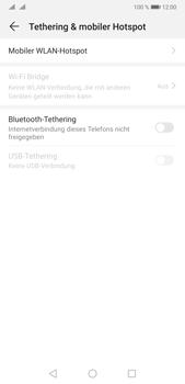Huawei P20 Pro - Android Pie - WiFi - So aktivieren Sie einen WLAN-Hotspot - Schritt 5