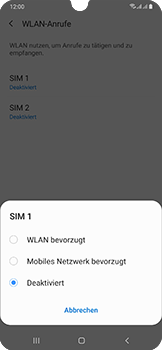 Samsung Galaxy A50 - WiFi - WiFi Calling aktivieren - Schritt 8