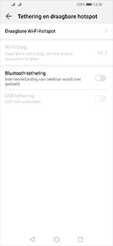 Huawei Y6 (2019) - Internet - Stel mobiele hotspot in - Stap 5