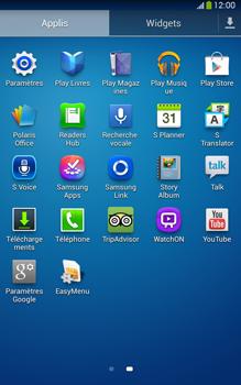 Samsung Galaxy Tab 3 8 4G - Internet et connexion - Partager votre connexion en Wi-Fi - Étape 3