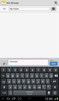 Samsung P3100 Galaxy Tab 2 7-0 - MMS - Sending pictures - Step 8