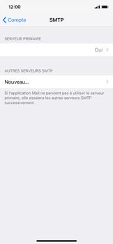 Apple iPhone X - iOS 12 - E-mail - Configuration manuelle - Étape 20
