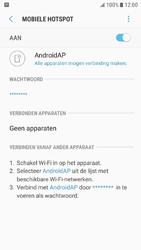 Samsung Galaxy J5 (2016) - Android Nougat - WiFi - Mobiele hotspot instellen - Stap 12