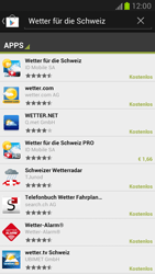 Samsung Galaxy Note II - Apps - Installieren von Apps - Schritt 13