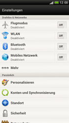 HTC One S - WiFi - WiFi-Konfiguration - Schritt 4
