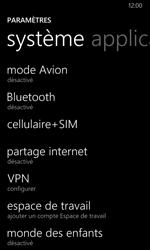 Nokia Lumia 630 - Réseau - Changer mode réseau - Étape 4