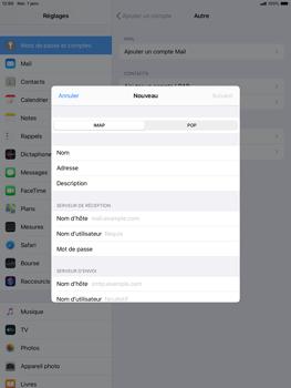 Apple ipad-10-2-7th-gen - E-mail - configuration manuelle - Étape 10