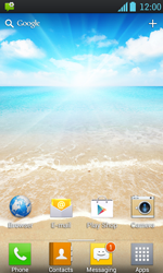 LG P700 Optimus L7 - MMS - Automatic configuration - Step 3