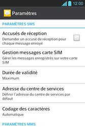 LG E610 Optimus L5 - SMS - configuration manuelle - Étape 4