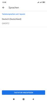 Xiaomi Mi Mix 3 5G - Startanleitung - So fügen Sie eine Tastatursprache hinzu - Schritt 7