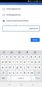 Samsung Galaxy J4+ - Apps - Konto anlegen und einrichten - Schritt 12