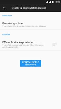 OnePlus 3 - Android Oreo - Appareil - Réinitialisation de la configuration d