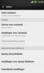 HTC Desire 500 - Voicemail - Handmatig instellen - Stap 5