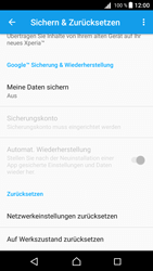 Sony E5823 Xperia Z5 Compact - Fehlerbehebung - Handy zurücksetzen - 0 / 0