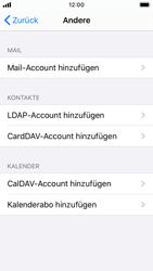 Apple iPhone SE - iOS 13 - E-Mail - Manuelle Konfiguration - Schritt 6