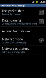 Samsung Galaxy S Advance - Internet and data roaming - Manual configuration - Step 6
